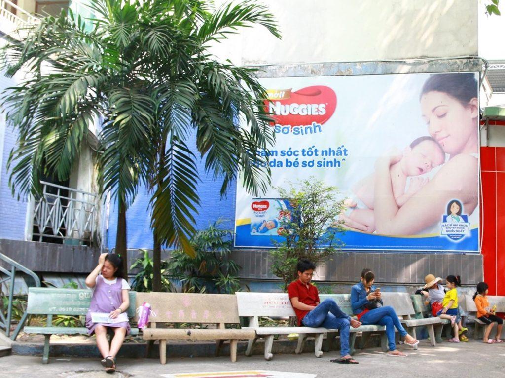 biển bảng quảng cáo tại bệnh viện