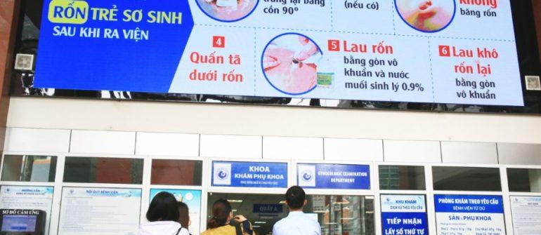 quảng cáo tại bệnh viện