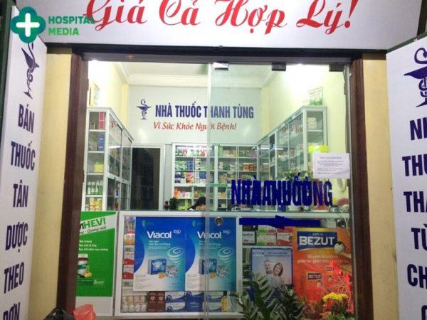 quảng cáo tại nhà thuốc